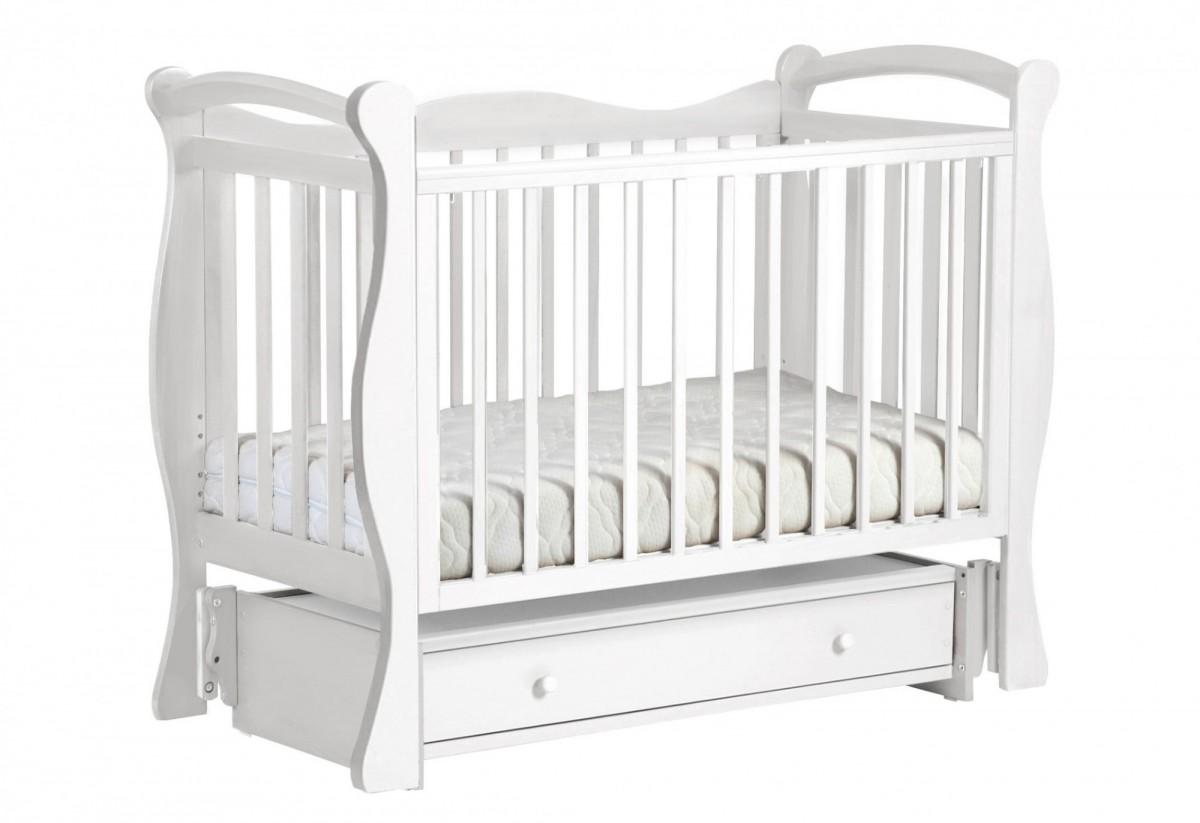 Лель Кубаночка-10 кроватка детская с универсальным маятником