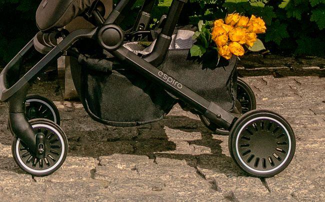 Espiro Axel рама и колеса